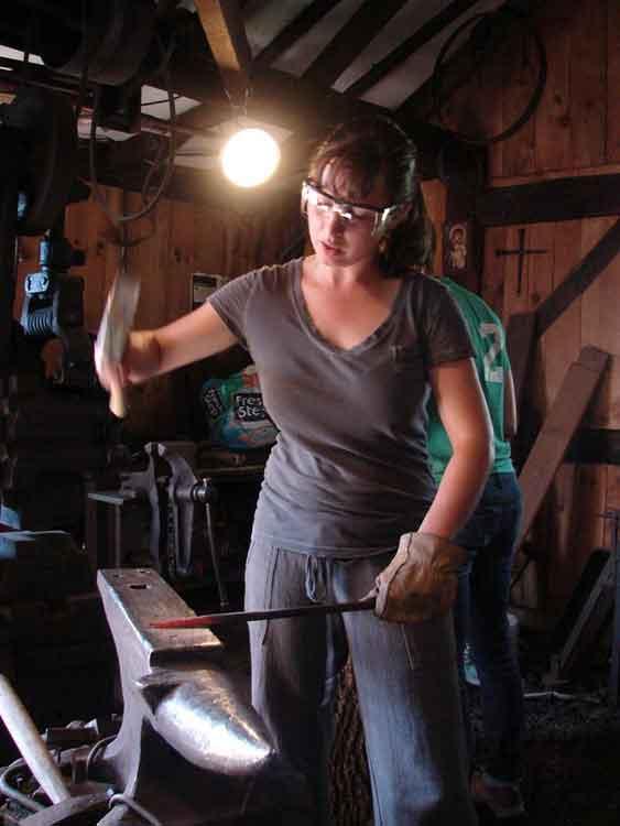 Abbey Of Regina Laudis Blacksmithing