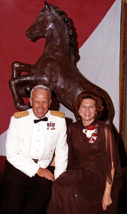 General and Mrs. Patton