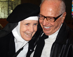 Mother Dolores and Dick DeNeut